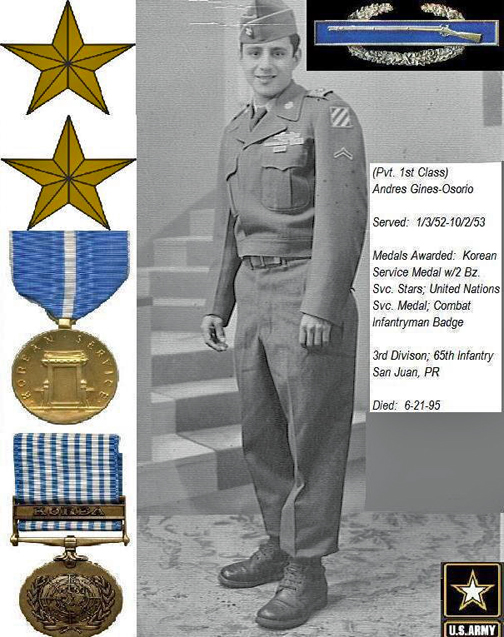 PFC Andres Gines Osorio